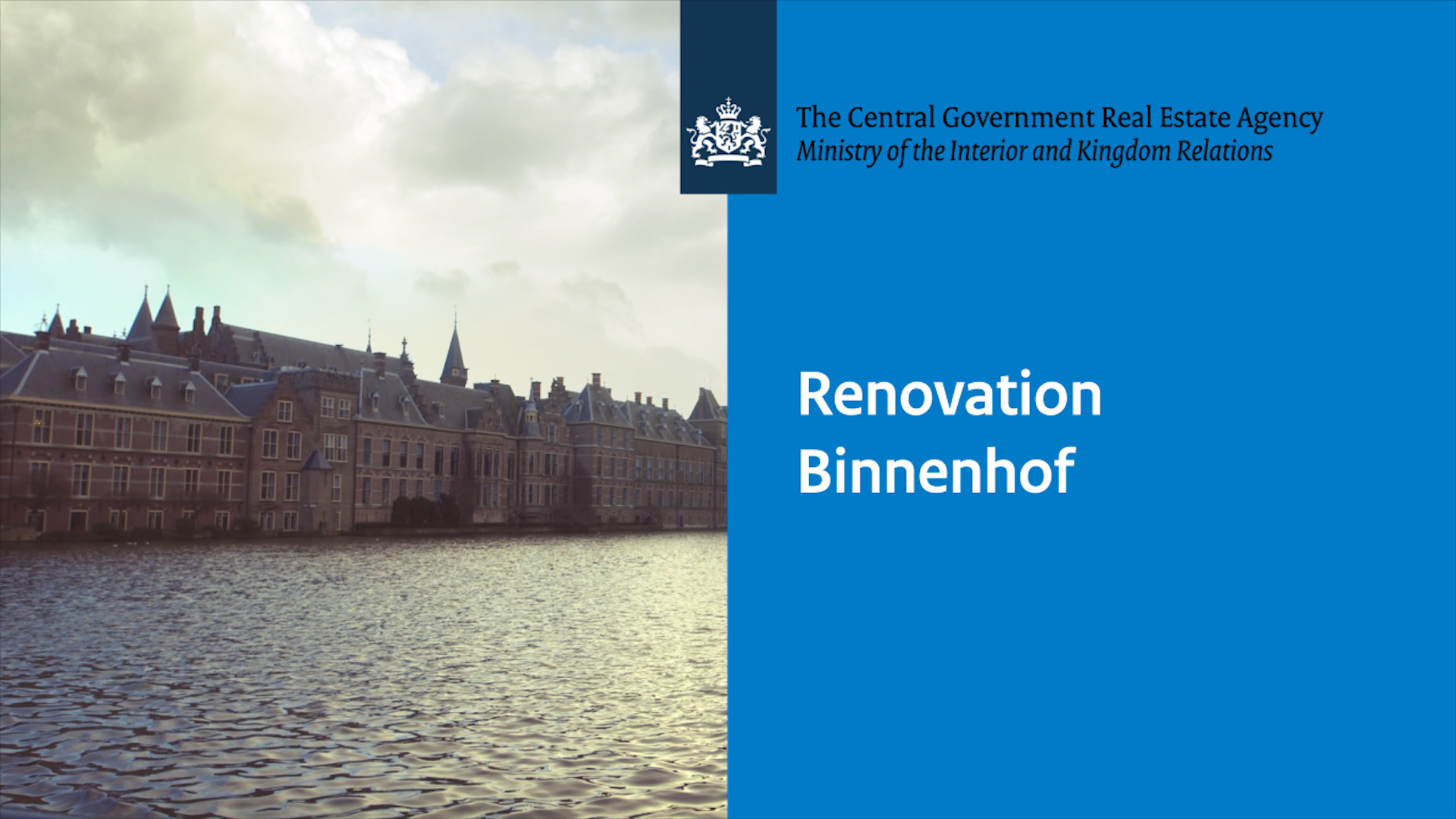 Image for video: Renovation Binnenhof