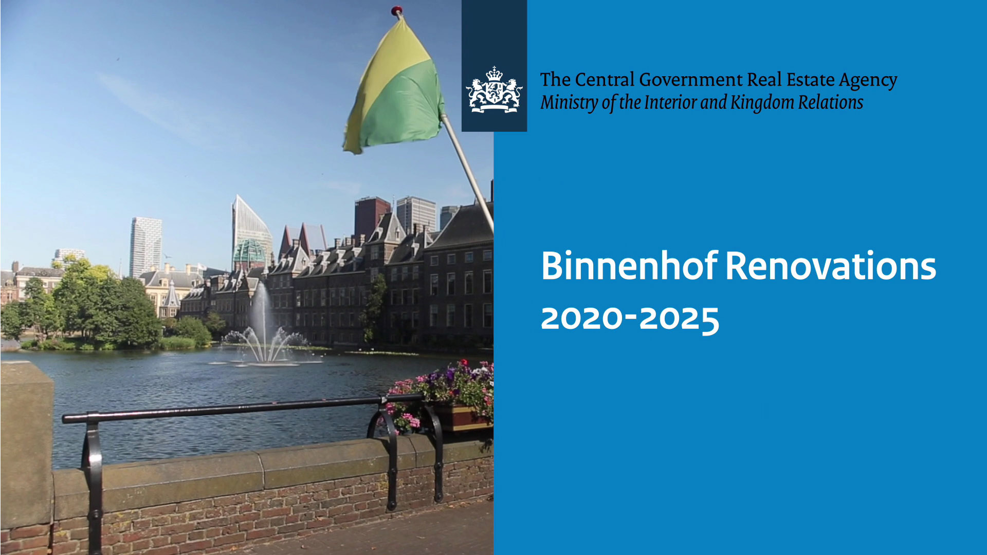 Image for video: Renovation Binnenhof 2020-2025