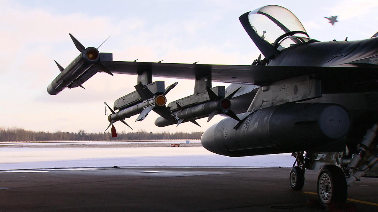 Afbeelding bij video: Baltic Air Policing