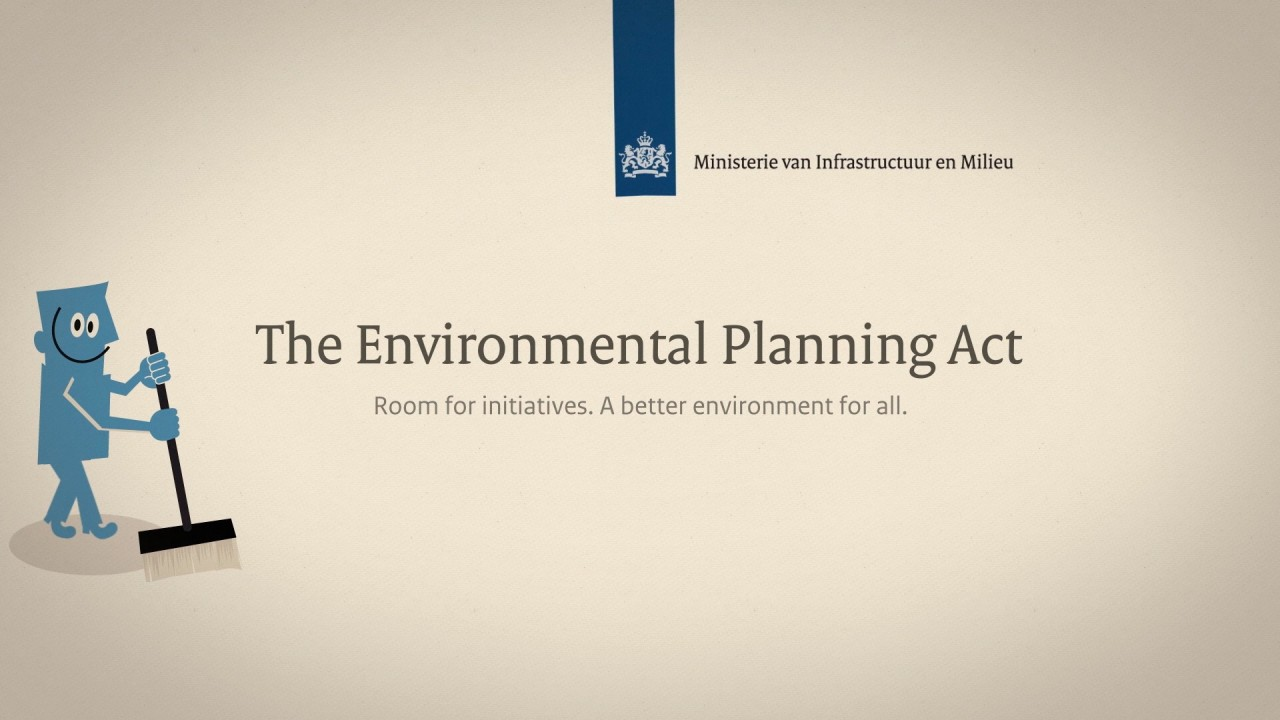 Afbeelding bij video: Why an environmental planning act?