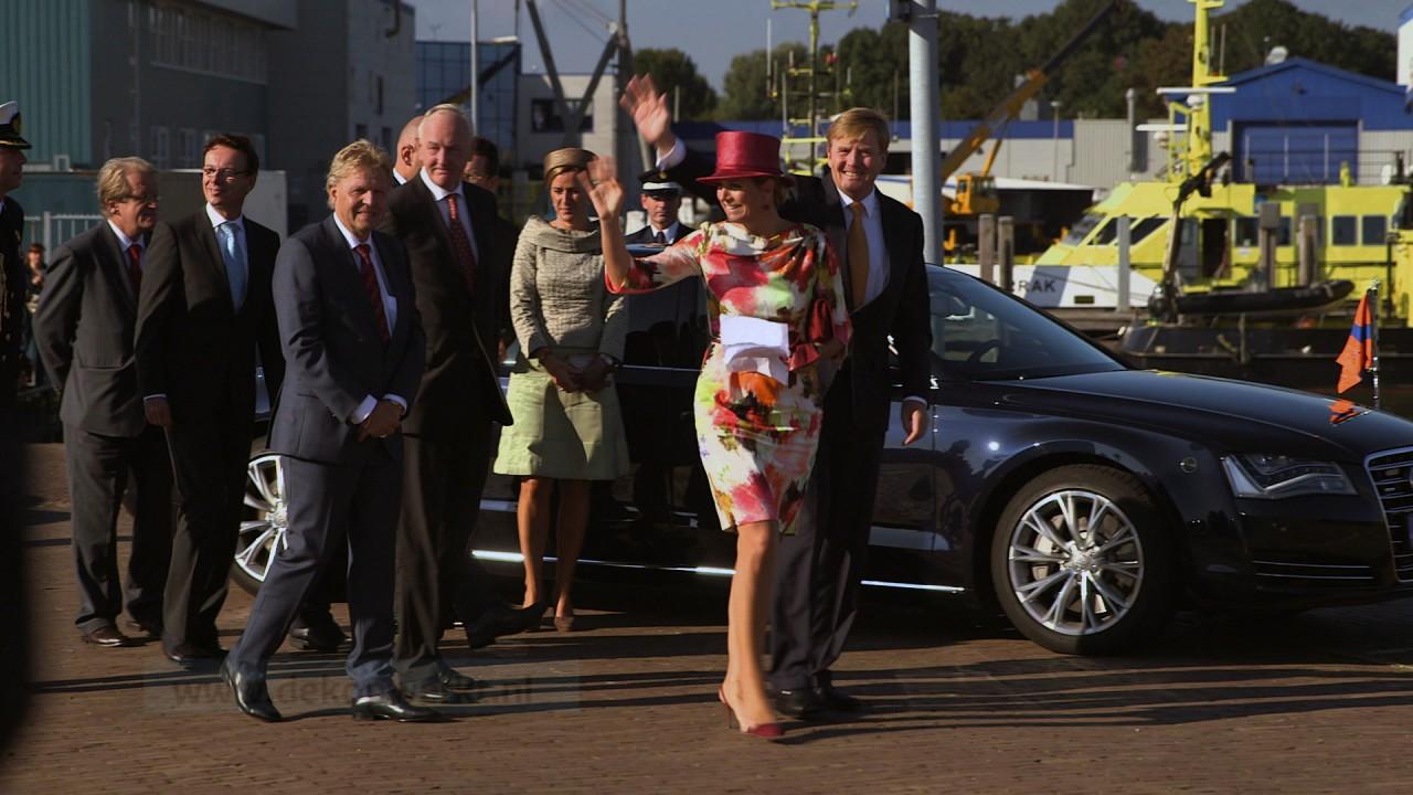 Koning en Koningin brengen een streekbezoek aan de Kop van Noord-Holland