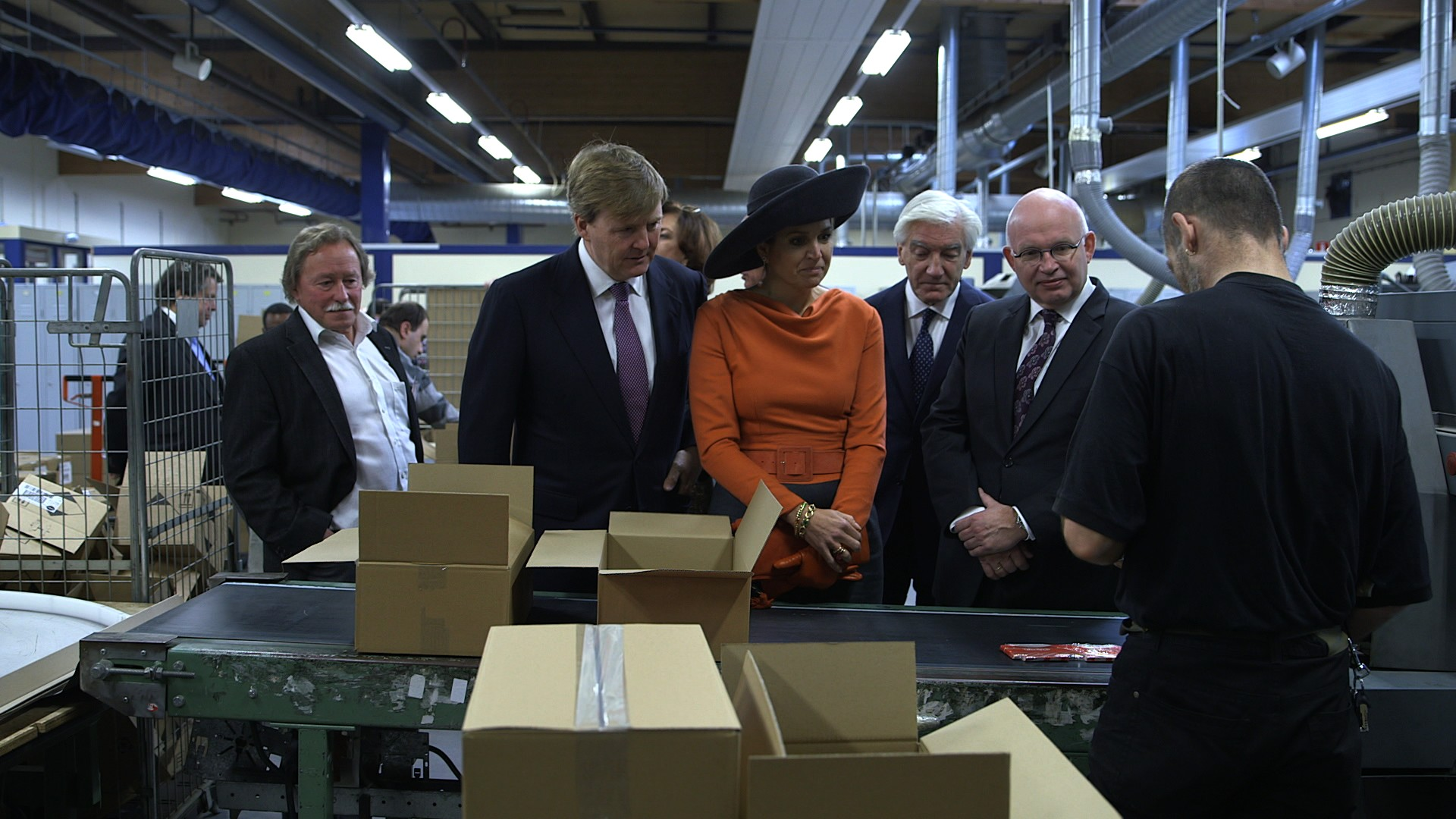 Koning en Koningin brengen streekbezoek aan de Groningse en Drentse Veenkoloniën