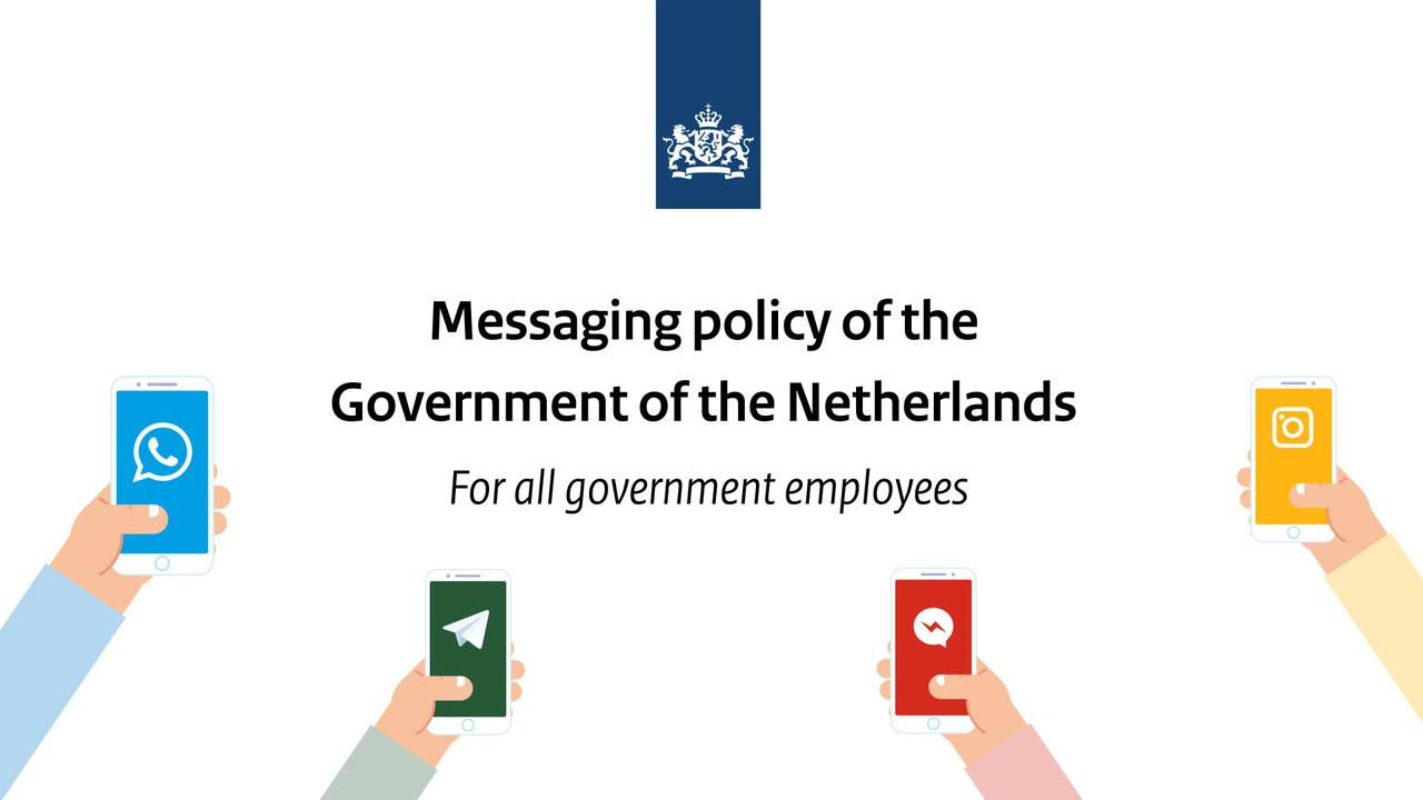 Afbeelding bij video: The policy is to be careful with policy!