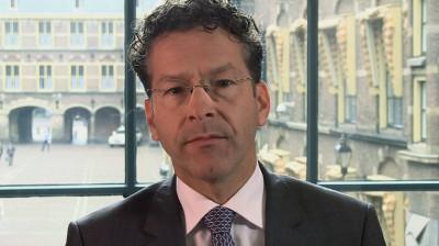 Afbeelding bij video 'Minister Dijsselbloem over de overheidsfinanciën'