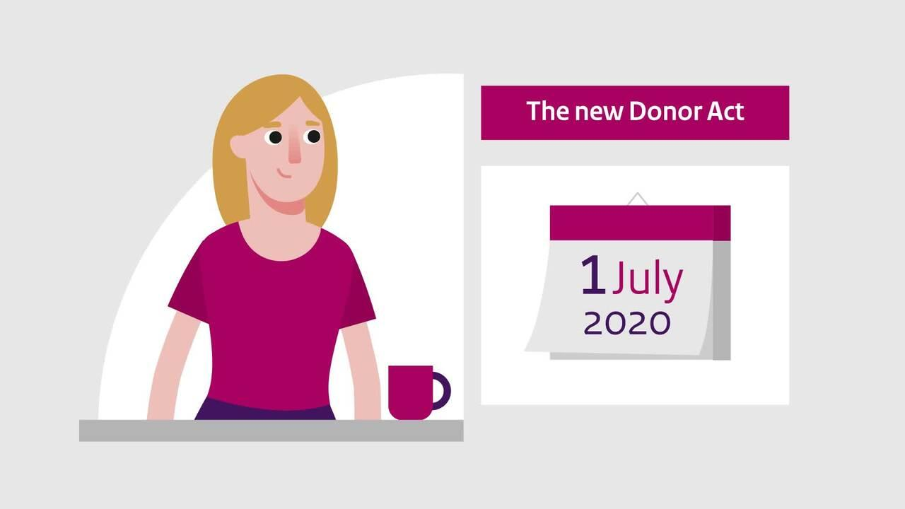 Afbeelding bij video: Animation | The new Donor Register - English