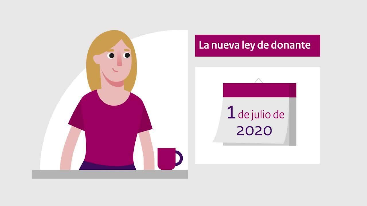 Afbeelding bij video: Animation | The new Donor Register - Spanish
