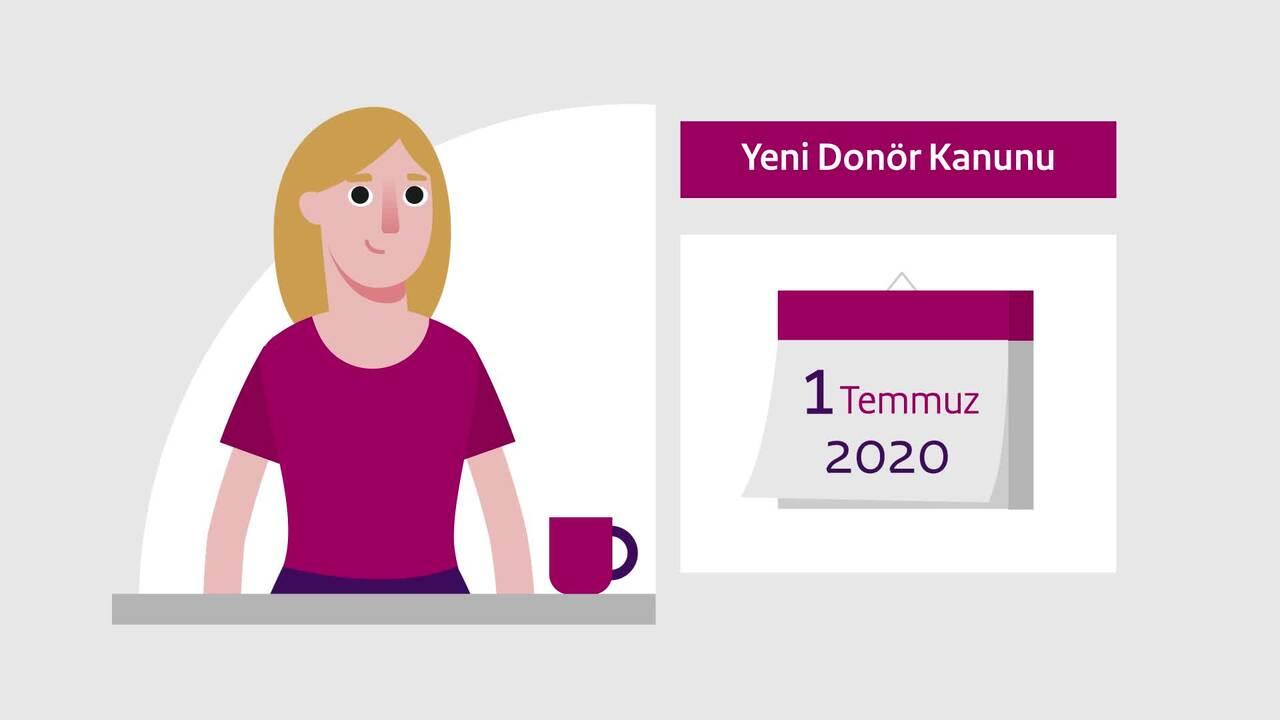 Afbeelding bij video: Animation | The new Donor Register - Turkish