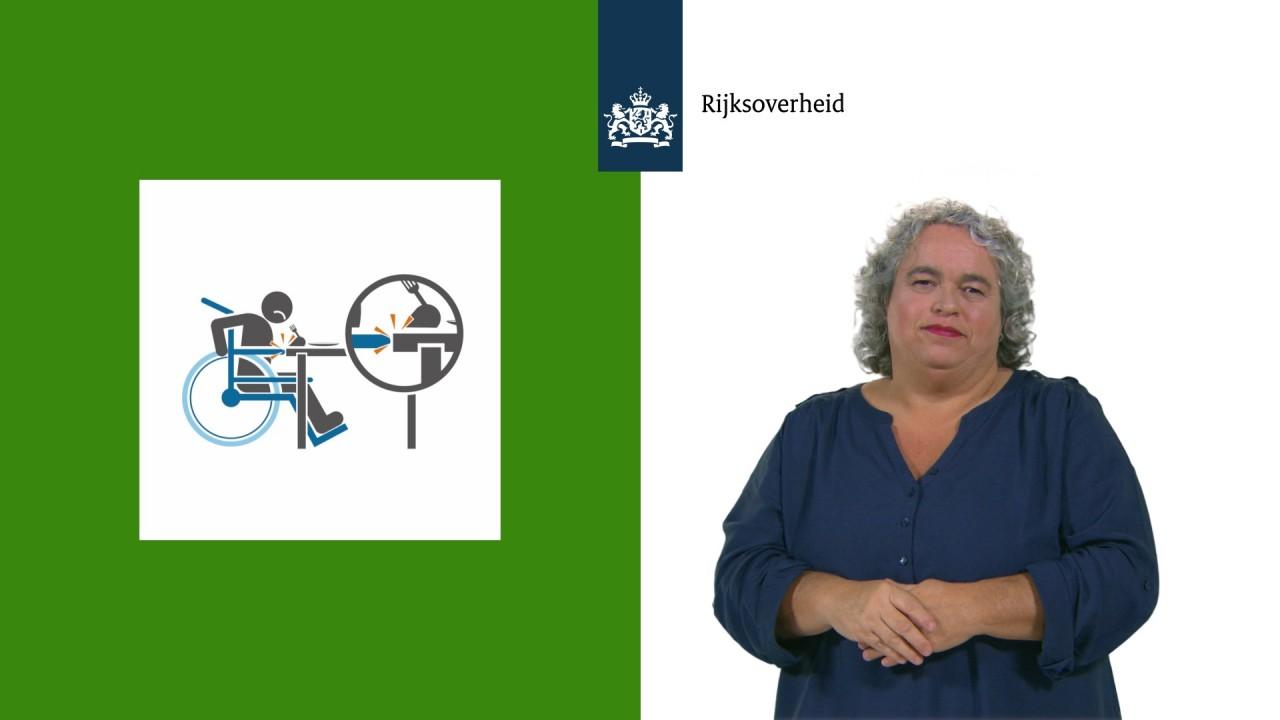 Afbeelding bij video:Video campagne Meedoen met een handicap: in het gebouw