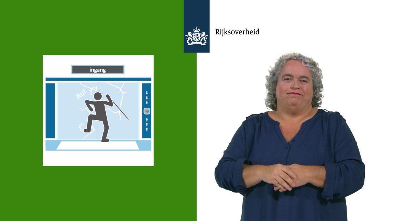 Afbeelding bij video:Video campagne Meedoen met een handicap: tips voor eenvoudige aanpassingen